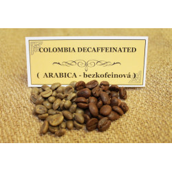 Káva COLUMBIA DECAFFEINATED