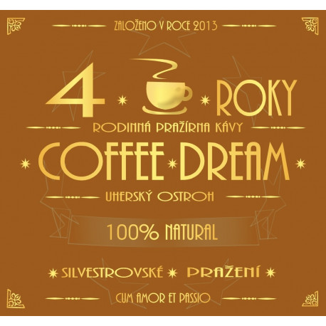 Kávová espresso směs FOURTH YEAR